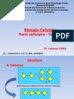 Cours_Biologie_Cellulaire_Dr CHAA_Vacuole_Paroi_2018_2019