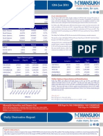 DERIVATIVE REPORT FOR 12 JAN - MANSUKH INVESTMENT AND TRADING SOLUTIONS