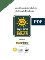 Diretrizes Selo Solar GD