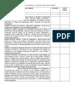 LISTA DE CHEQUEO  PREVENCIÓN Y MANEJO DE SITUACIONES DE RIESGO DE CONTAGIO.