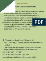 4 - 5 ANALISIS QUIMICO - CUARTA Y QUINTA SEMANA