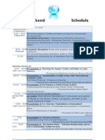 Mount Allison Atlantic International Studies Organization (ATLIS) 2011 Conference Schedule