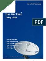 Ban Tin Thue Thang 01- 2009