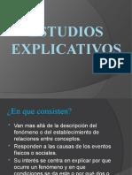 Estudios Explicativos Tipos de Estudios