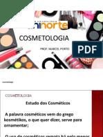 Aula 01 Cosmetologia  - introdução