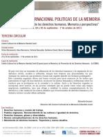 3RA_CIRCULAR_IV Seminario Internacional Politicas de la Memoria_CCMHCONTI.pdf