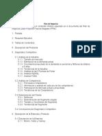 Estructura Plan de Negocios Mar2020