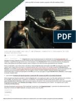 Capcom reafirma que RE3 é um remake completo e pergunta se fãs estão satisfeitos _ REVIL _
