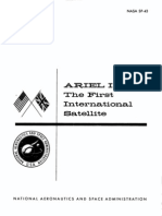 Ariel I, The First International Satellite Project Summary