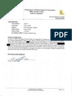 La. State Police.michael Torres.initial Report