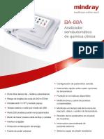 Folleto BA88A (muestra)