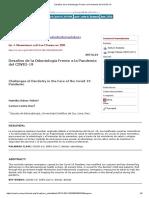 Desafíos de la Odontología Frente a la Pandemia del COVID-19