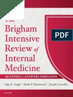 The Brigham Intensive Review of Internal Medicine Q&A Companion, 2e