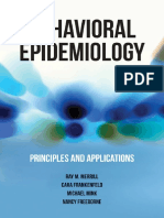 Ray M. Merrill, Cara L Frankenfeld, Michael D. Mink, Nancy Freeborne - Behavioral Epidemiology_ Principles and Applications (2015, Jones & Bartlett Learning) - libgen.lc.pdf