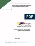 Lineamientos Clpp dictados por el MPD