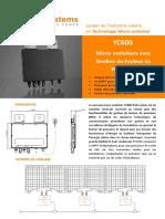 Fiche Technique Yc600_fr