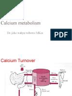 Calcium metabolism(1)