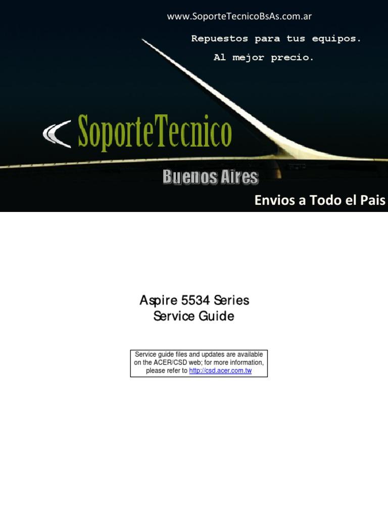 229 service manual aspire 5534 keyboard shortcut ieee 802 11 rh scribd com 5534 Acer Drivers Acer 5534 Laptop