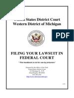 Pro Se Handbook Fed Court
