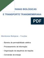 Membranas e Transporte (1)