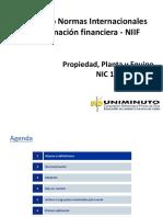 Presentación NIC 16 Propiedad, Planta y Equipo