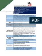 Desarrollo del Acta de Constitución del Proyecto.docx