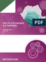 IRES_EFECTELE ECONOMICE ALE PANDEMIEI_SONDAJ_IUNIE 2020