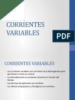corrientes variables