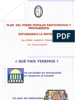 Plan de Poder Popular 03-02-03 Dip. Denis Peraza