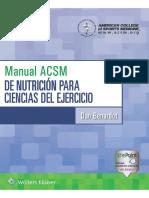 Copia de Manual ACSM de nutrición para ciencias del ejercicio.pdf