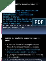 Proceso Administrativo . Proceso de formación de objetivos - Decisión (1)