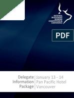 NIBC 2011 Delegate Information Package (1)