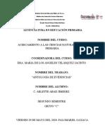 Arlette Aj. Acn. Antologia de Evidencias de Trabajo.