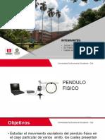 PRESENTACION Pendulo Fisico . (1)