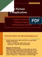 Post Partum Complications