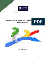 Meěmento MFE 0919 DEF