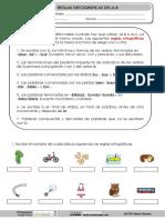 Cuaderno Reglas Ortograficas