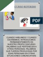 CLASE DE EL DISCURSO REFERIDO.pptx