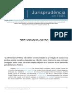 Jurisprudencia em Teses 148 - Gratuidade da Justica - I.pdf