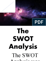 3 The SWOT and PEST Analysis