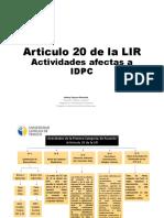 Material Art. 20 y 21 de la LIR (2)