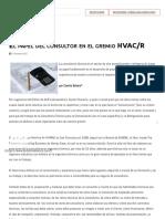 El papel del consultor en el gremio HVAC_R _ ACR Latinoamérica