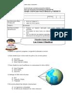 GUIA 1 Las-Zonas-Climaticas  CUARTO BASICO