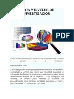 TIPOS Y NIVELES DE INVESTIGACIÓN (1)