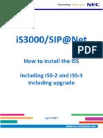 NEC SIP@Net - Installation Manual - ISS