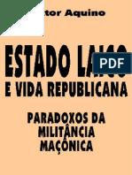 ESTADO LAICO E VIDA REPUBLICANA