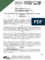MHCP-Acuerdo Ministerial 03-2019