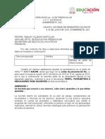 INFORME DE DESEMPEÑO DOCENTES