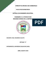 RESUMEN_NORMAS DE LA EMPRESA