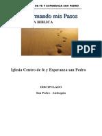 DISCIPULADO IGLESIA C.F.E.SAN PEDRO